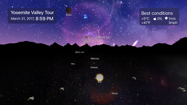 Icandi apps night sky 6 brings the sky to you thanks to ios 12 siri shortcuts and arkit 20 ask siri where the international space station is then literally pull it thecheapjerseys Image collections